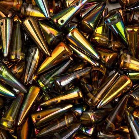 Spike 7х17 мм Crystal Magic Copper (5 шт)