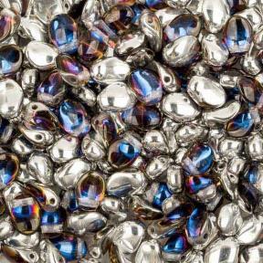 Tulip Petals 6х8 мм Crystal Bermuda Blue (10 шт)