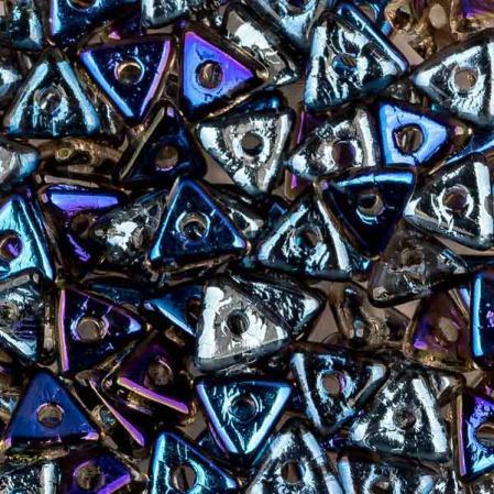 Tri-bead 4 мм Crystal Azuro