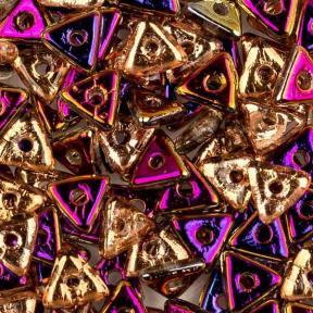 Tri-bead 4 мм Crystal Sliperit