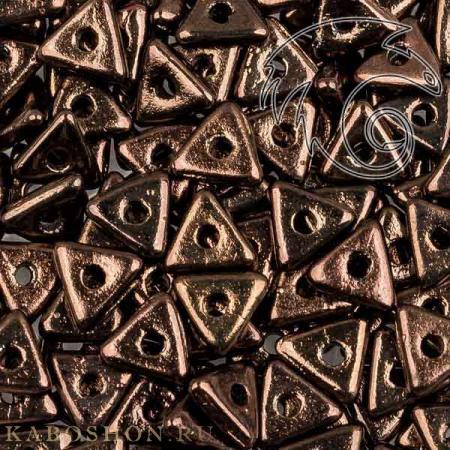 Tri-bead 4 мм Jet Lila Vega Luster Tri-23980-15726