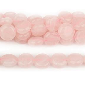 Кварц розовый монетки 12 мм