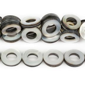 Перламутр черный диски 15-16 мм