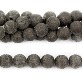 Лава черная 10 мм