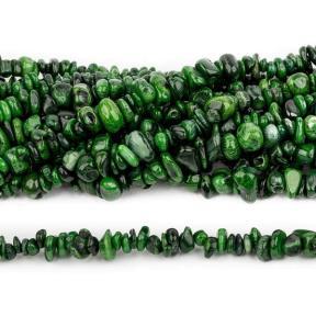 Коралл зеленый тонированный