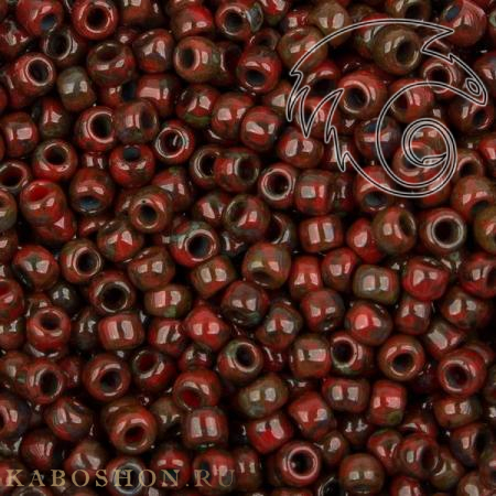 Бисер Cotobe 11-0 Antique Brick-red