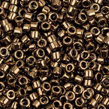 Бисер Delica 11-0 Металлизированный бронза