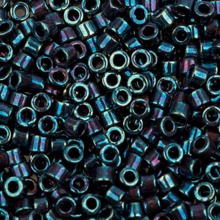 Бисер Delica 11-0 Металлизированный радужный пурпурный