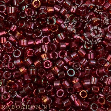 Бисер Delica 11-0 Золотое сияние темно-красный