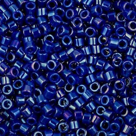 Бисер Delica 11-0 Глянцевый непрозрачный королевский синий