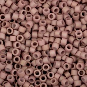 Бисер Delica 11-0 Матовый непрозрачный пыльный розово-лиловый
