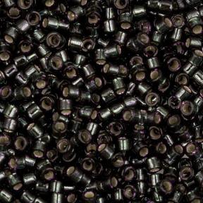 Бисер Delica 11-0 Внутреннее серебрение темно-оливковый