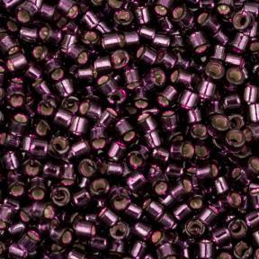 Бисер Delica 11-0 Внутреннее серебрение красное вино