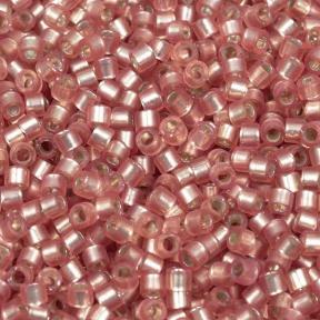 Бисер Delica 11-0 Внутреннее серебрение полуматовый светлая клюква