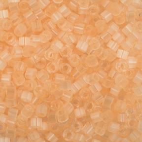 Бисер Delica 11-0 Сатин (шелк) бледный абрикос