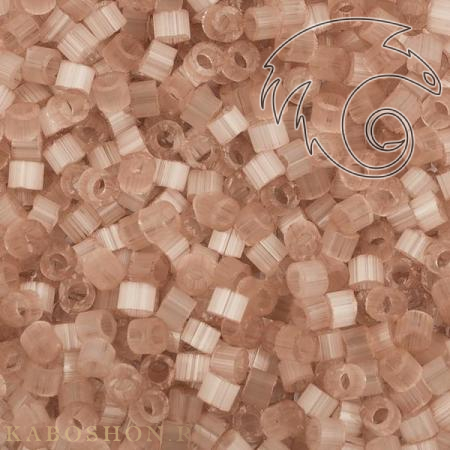 Бисер Delica 11-0 Сатин (шелк) бледно-розовый