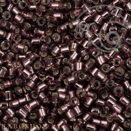Бисер Delica 11-0 Внутреннее серебрение розовато-лиловый DB1204