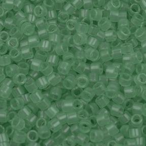 Бисер Delica 11-0 Прозрачный мятный