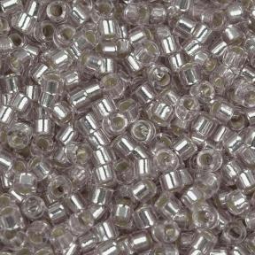 Бисер Delica 11-0 Внутреннее серебрение бледно-розовый