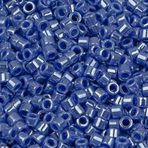Бисер Delica 11-0 Непрозрачный глянцевый циановый синий