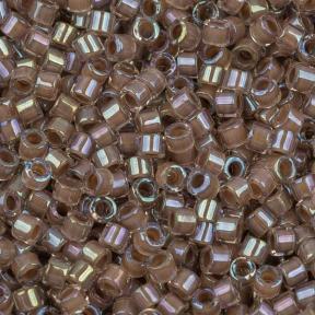 Бисер Delica 11-0 Окрашенный изнутри радужный какао-хрусталь