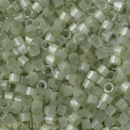Бисер Delica 11-0 Сатин (шелк) бледный лайм
