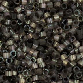 Бисер Delica 11-0 Сатин (шелк) темно-серый
