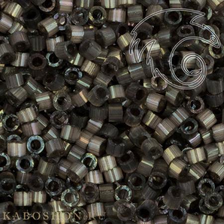 Бисер Delica 11-0 Сатин (шелк) темно-серый DB1818