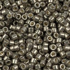 Бисер Delica 11-0 Duracoat Гальванизированный олово
