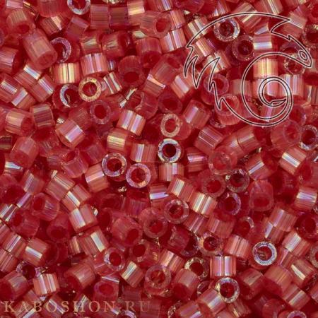 Бисер Delica 11-0 Сатин (шелк) окрашенный изнутри/радужная ягода