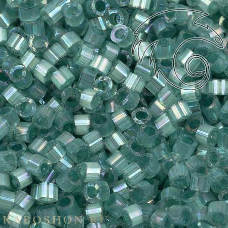 Бисер Delica 11-0 Сатин (шелк) окрашенный изнутри радужный изумруд