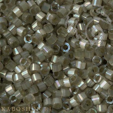 Бисер Delica 11-0 Сатин (шелк) окрашенный изнутри радужный кактус