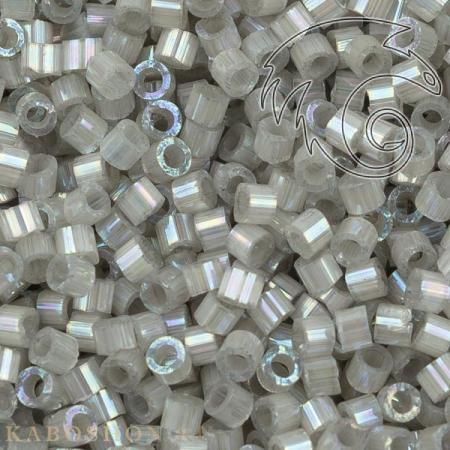 Бисер Delica 11-0 Сатин (шелк) окрашенный изнутри радужный олово