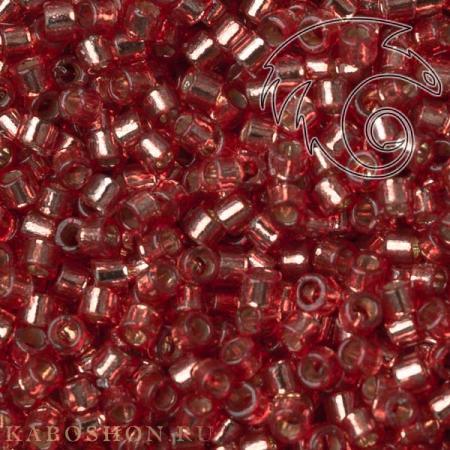 Бисер Delica 11-0 Duracoat Внутреннее серебрение светлый арбуз