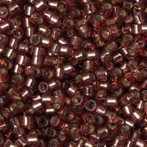 Бисер Delica 11-0 Duracoat внутреннее серебрение маджента