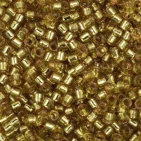 Бисер Delica 11-0 Duracoat внутреннее серебрение цедра