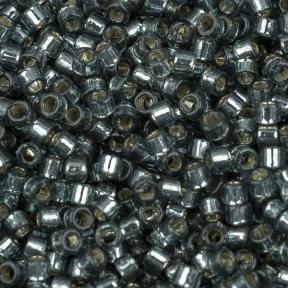 Бисер Delica 11-0 Duracoat внутреннее серебрение светлая голубая сталь