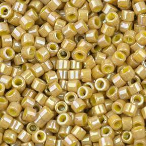 Бисер Delica 11-0 Непрозрачный глазурованный горчичный