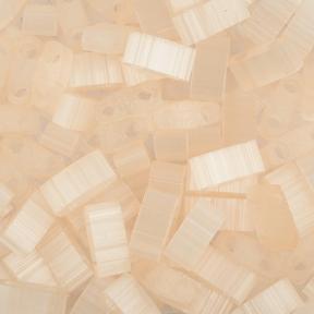 Бисер Half Tila Сатин (шелк) персиковый