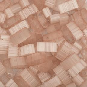 Бисер Half Tila Сатин (шелк) бледно-розовый