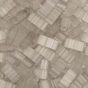 Бисер Half Tila Сатин (шелк) серый