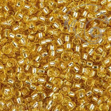 Бисер Miyuki Внутреннее серебрение золото