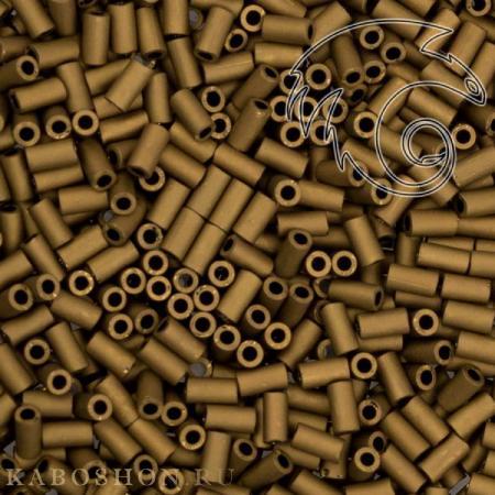 Стеклярус Toho 3 мм Матовый темная медь