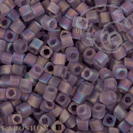 Бисер Toho Матовый радужный прозрачный сахарная слива TC-01-166DF