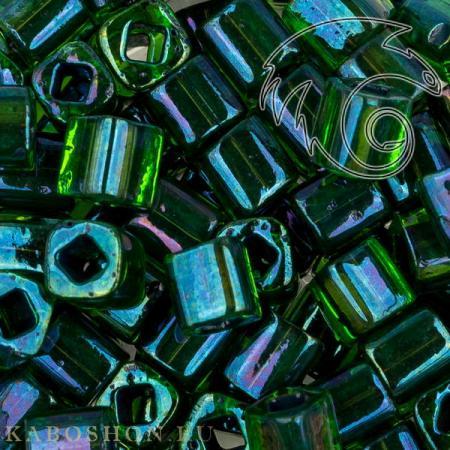 Бисер Toho Окрашенный изнутри радужный перидот/непрозрачный зеленый
