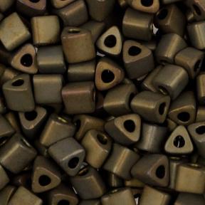 Бисер Toho Матовый металлизированный коричневый ирис