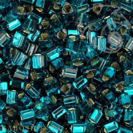 Бисер Toho Внутреннее серебрение сине-зеленый
