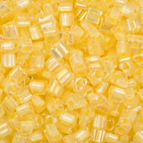 Бисер Toho Окрашенный изнутри хрусталь-непрозрачный желтый