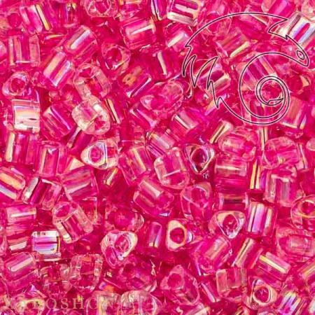 Бисер Toho Окрашенный изнутри глянцевый хрусталь/теплый розовый