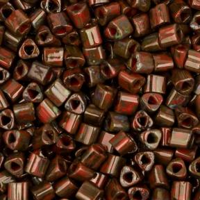 Бисер Toho HYBRID Красно-коричневый пикассо
